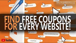 How To Find FREE Coupons Online | Honey Coupon App