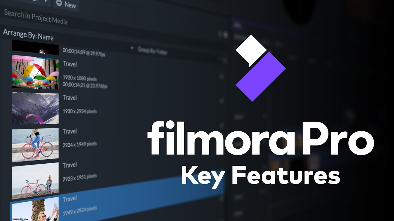 Getting Started with FilmoraPro | Key Features & Timeline Tools