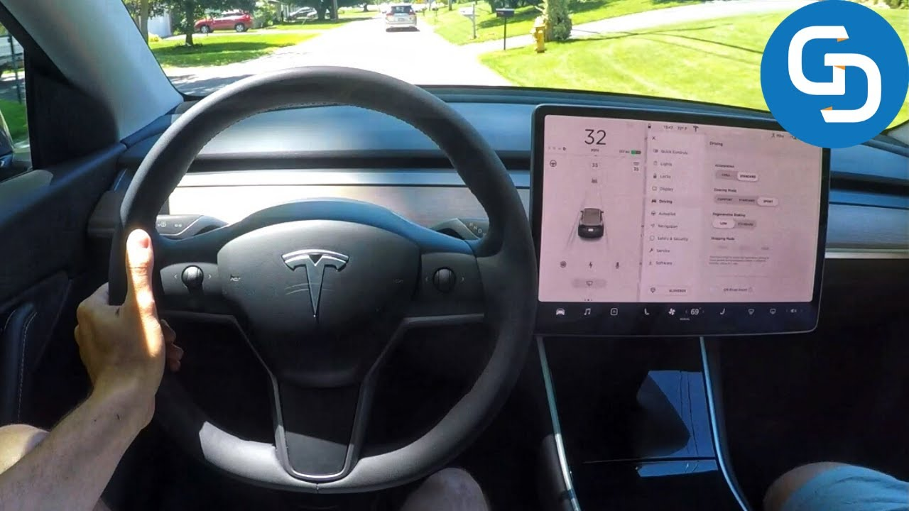 What's It Like to Drive the Tesla Model Y?