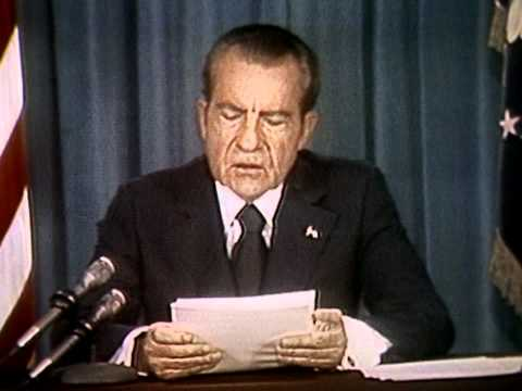 President Nixon's Third Watergate Speech (April 29, 1974)