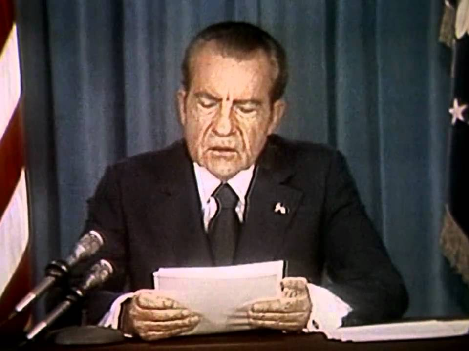 President richard nixon and the watergate