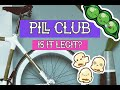 My First Time using Pill club, Birth Control, Unboxing, is it legit?