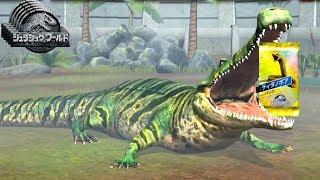 恐竜を食べてた大昔の巨大ワニで『ティタノボア』イベント1位取れた!#26【 Jurassic World: The Game 】実況