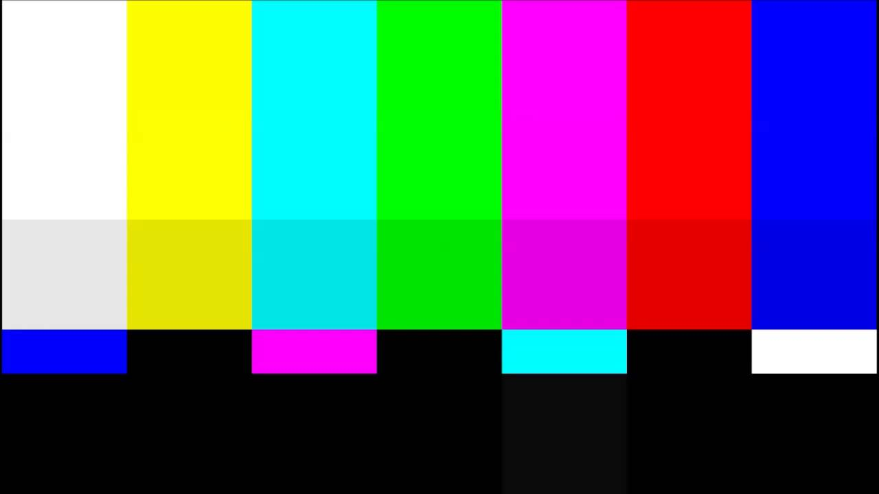 Television Test Screen Pattern And Sound 2 Hours Youtube