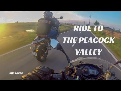 RIDE TO THE PEACOCK VALLEY | OUTSTANDING ODISHA | DRONE SHOTS