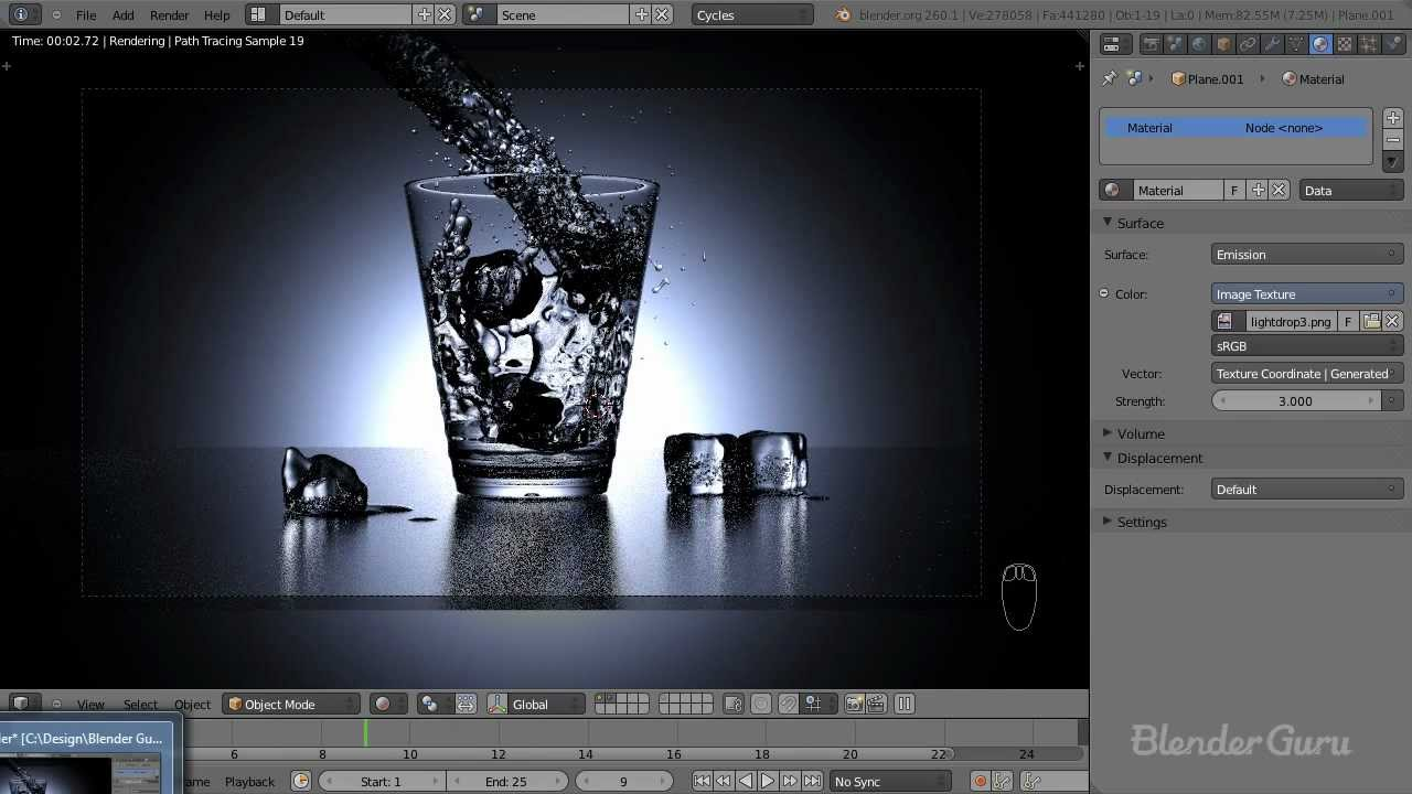 Create a Realistic Water Simulation in Blender - YouTube