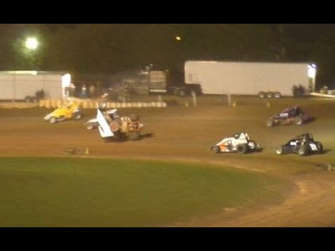 Plymouth Dirt Track IRA WINGLESS Sprints Feature 9-28-2019