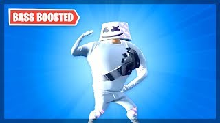 FORTNITE MARSH WALK BASS BOOSTED - MARSHMELLO DANCE EMOTE