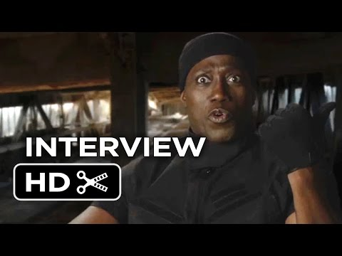 The Expendables 3 Interview - Wesley Snipes (2014) - Action Movie Sequel HD