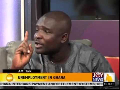 Unemployment in Ghana - AM Talk (20-1-15)