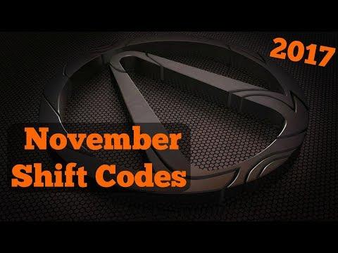 Borderlands 2 | (November) Shift Codes (2017)