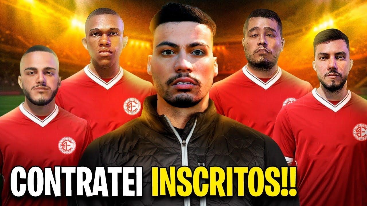 COLOQUEI OS INCRITOS NO TIME !!! - FIFA 21 Modo Carreira Brasileirão - Parte 13