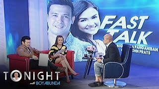 TWBA: Fast Talk with John and Angelica