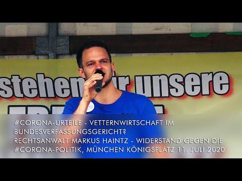 Rechtsanwalt Markus Haintz CoronaUrteile Vetternwirtschaft beim Bundesverfassungsgericht? Widerstand