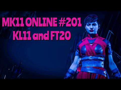 MK11 ONLINE #201 - Kombat League 11 and Set Later