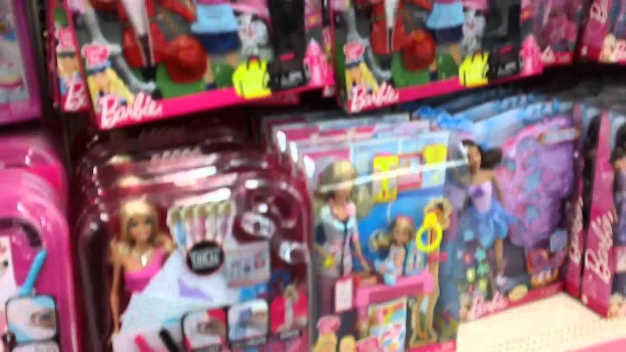 Shopping for Barbie Dolls & Bratz in the Girls Toy aisle at ...
