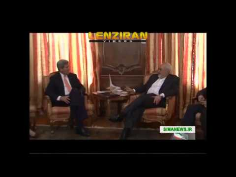 Javad Zarif talk with John Kerry in New York about sanctions & law of congress