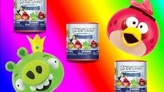 Angry Birds Mashems Series 4 Three Pack Unboxing