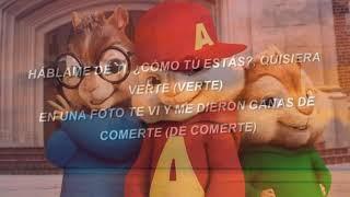 Jay Wheeler Ft Myke Towers - La Curiosidad ( Cover / Alvin y las ardillas )