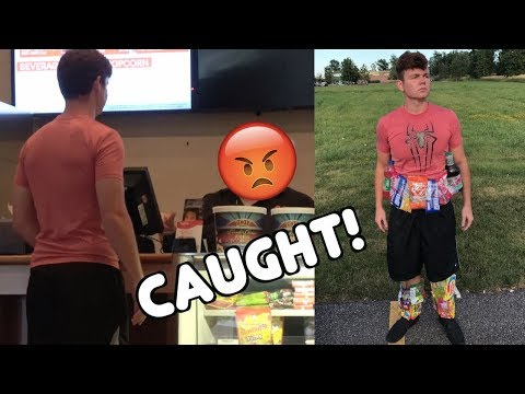 SNEAKING Candy into the MOVIES (CAUGHT!!!)