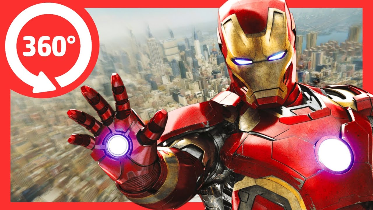 💥IRONMAN 360 VR Video | Marvel Avengers Virtual Reality Experience