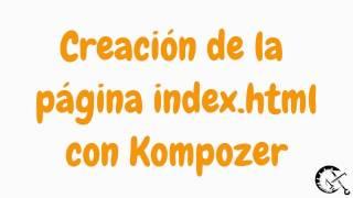 Creación de mi página index.html