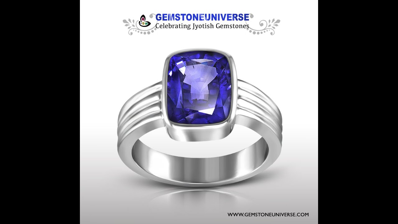 sri natural unheated royal from lanka youtube sapphire gemstone blue watch