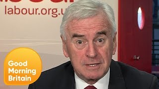 John McDonnell on Labour's View on a Second Brexit Referendum | Good Morning Britain