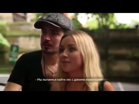 Russian TV Show In Ubud Bali