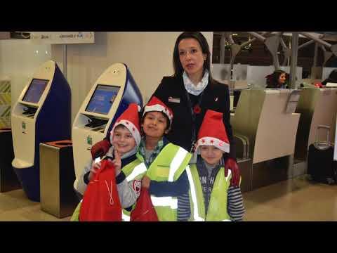 Air France KLM  Christmas 2017 at FLR Airport