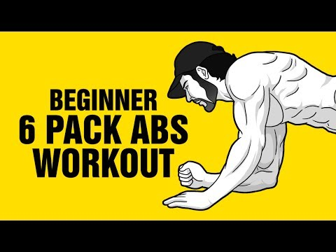 The Best 6 Pack Abs Workout For Beginners – 8 min Follow Along Video