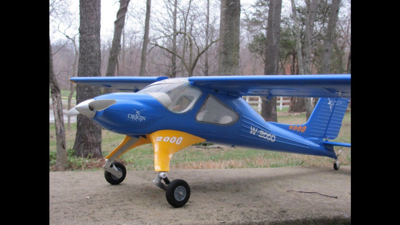 Wilga 2000 (Origin Hobby) Leisure Flight