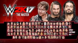 WWE 2K17 Roster Concept Prediction - OVER 120 WRESTLERS (WWE, NXT & LEGENDS)