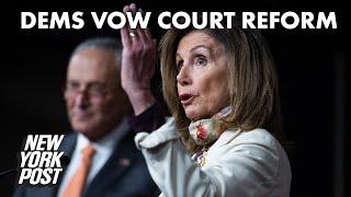 Democrats threaten court upheaval after Amy Coney Barrett confirmation | New York Post