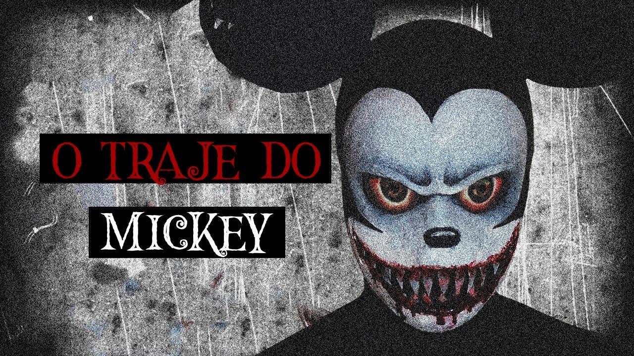 """""""O Traje da Disney"""" - História de terror"""