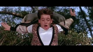 Ferris rushes home, the running montage: Ferris Bueller's Day Off (1986)