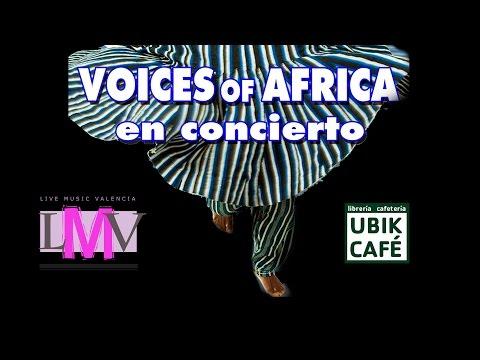 Voices of Africa - ubik Cafe - LMV Live Music Valencia