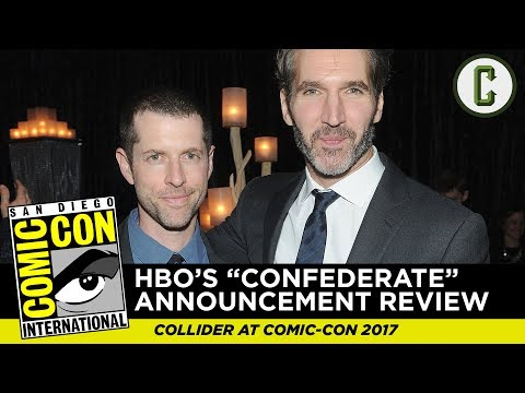 Game of Thrones Showrunners Announce New Series 'Confederate' with HBO - SDCC 2017