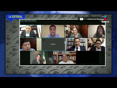 Diputada olvida apagar su micrófono en junta   La Editorial de Pamela   De Pisa y Corre