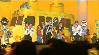 【TVPP】BIGBANG - Sunset Glow, 빅뱅 - 붉은 노을 @ Comeback Stage, Show Music core Live