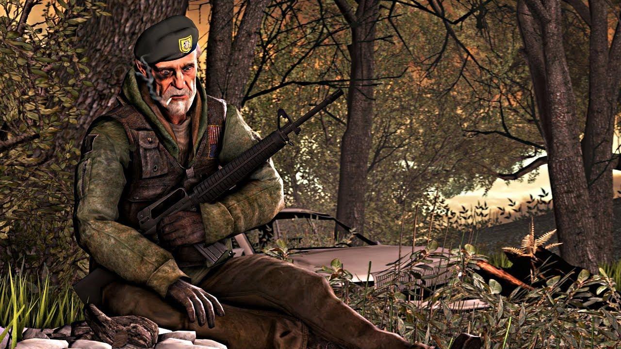 Left 4 Dead 2 Solo Expert Headshot! Mutation No Damage Dead Air