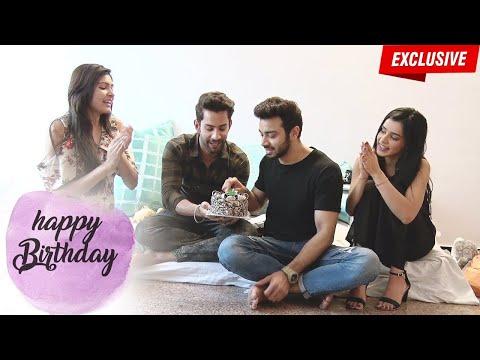 Samridh Bawa celebrates Birthday with Glitz Vision & Swabhimaan Co-Stars