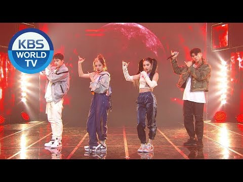 KARD - RED MOON [Music Bank / 2020.02.21]