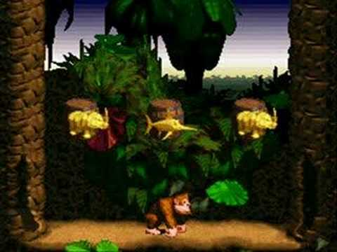 Donkey Kong Country: Charactor Animations
