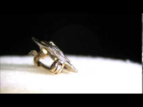 ANTIQUE VINTAGE 10K SOLID GOLD MASON MASONIC PIN BROOCH ~ NO RESERVE