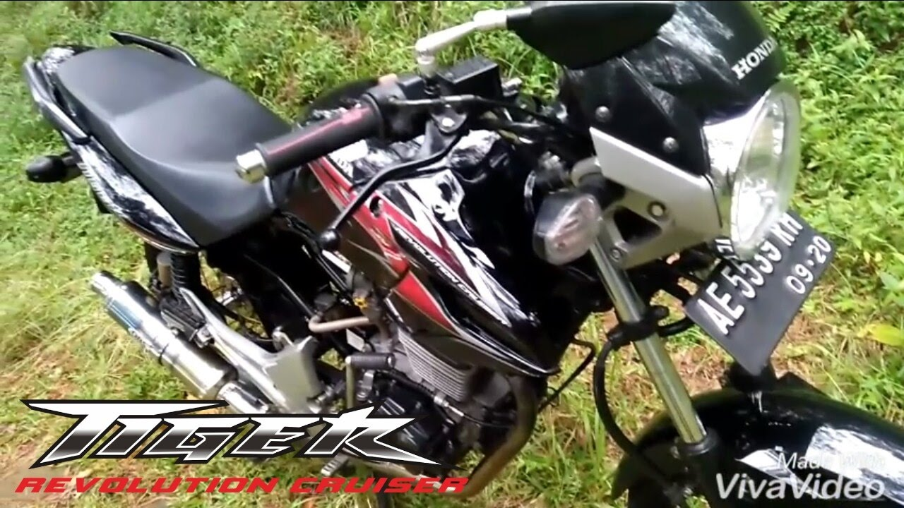 Kerennn Modifikasi Honda Tiger Youtube