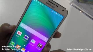 Samsung Galaxy E7 Hands On Review, Camera, Features, India Price and Overview
