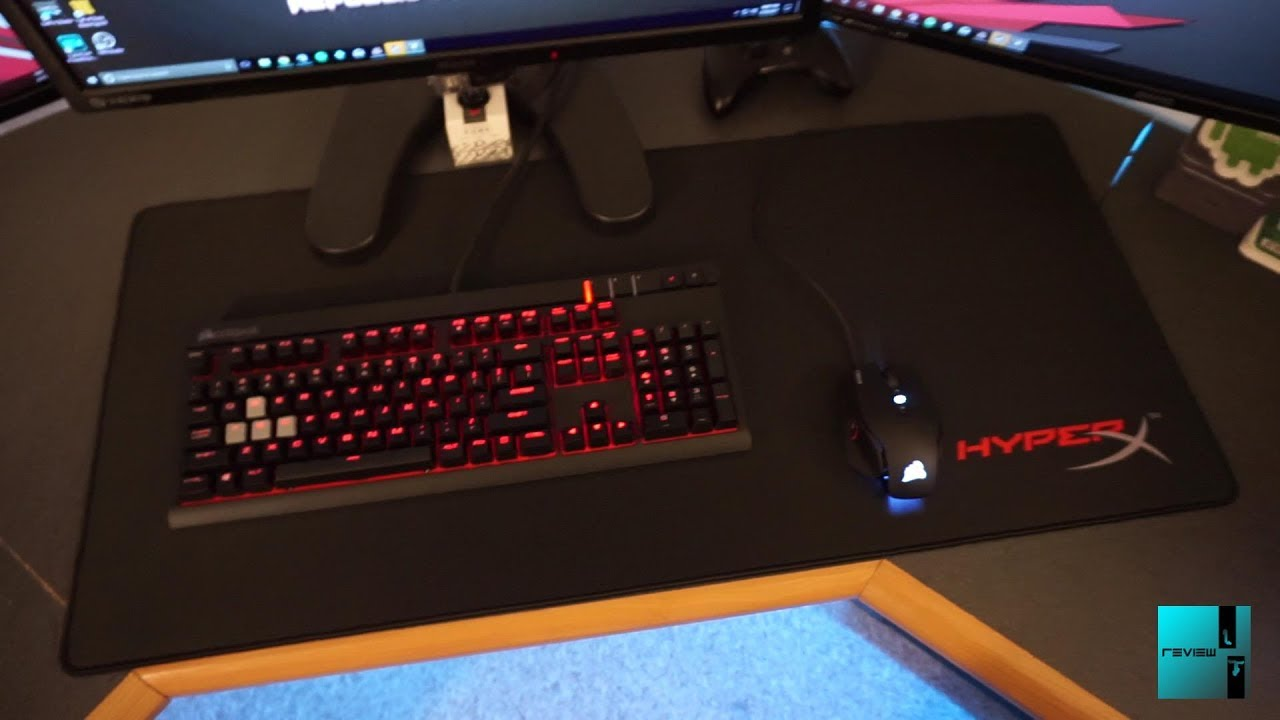 Hyperx Pro Gaming Mouse Pad Xl Review Youtube