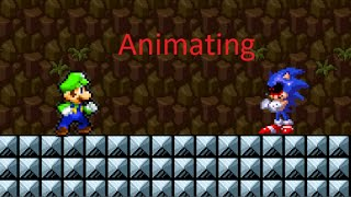 Sonic Exe My Sprite Verison Sprite Animation From Youtube