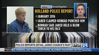 Police reports History of bizarre behavior at Chance home